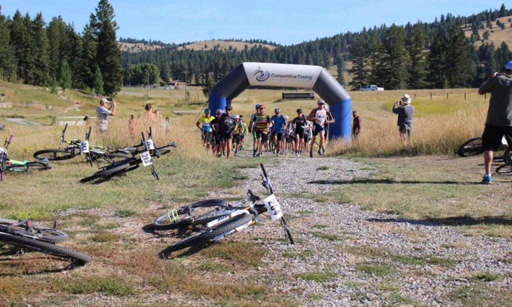 Mountain bike race whitefish, kalispell, montana