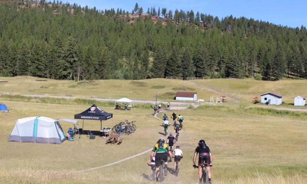 mountain bike race in montana