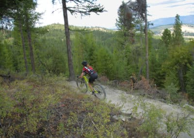 Montana Mountain bike race